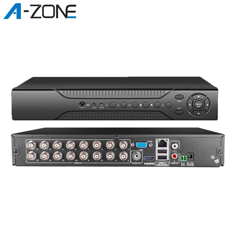 16CH 1080P DVR Video Recorder For CCTV Security Analog Camera ONVIF P2P 5 in 1 8CH DVR For Home CCTV Surveillance Camera System