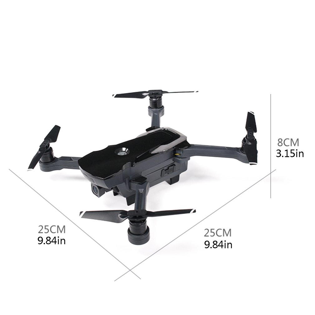 New CG033 Brushless FPV RC Quadcopter With 1080P HD Wifi Gimbal Camera RC Helicopter Foldable Drone GPS Dron Kids Boys Gifts in RC Helicopters from Toys Hobbies