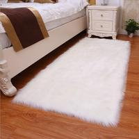 Luxury Fluffy Rugs Bedroom Furry Carpet Bedside Sheepskin Area Rugs Children Play Princess Room Decor Rug, 2.3ft X 5ft