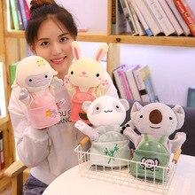 Soft Toy Hand-Puppets Animal Koala Dolls Plush Sheep-Story-Telling Rabbit Kids Children