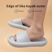 Platform-Shoes Slides Shower Summer Sandals Non-Slip Mute Sippers Youdiao Soft Women