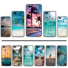 Beach Summer Sea Hawaii Ocean Palm Tree Phone Cover For OPPO A ax 3 5 3 37 57 59 37 73 75 83 71 2018 11 1k s PRO(China)