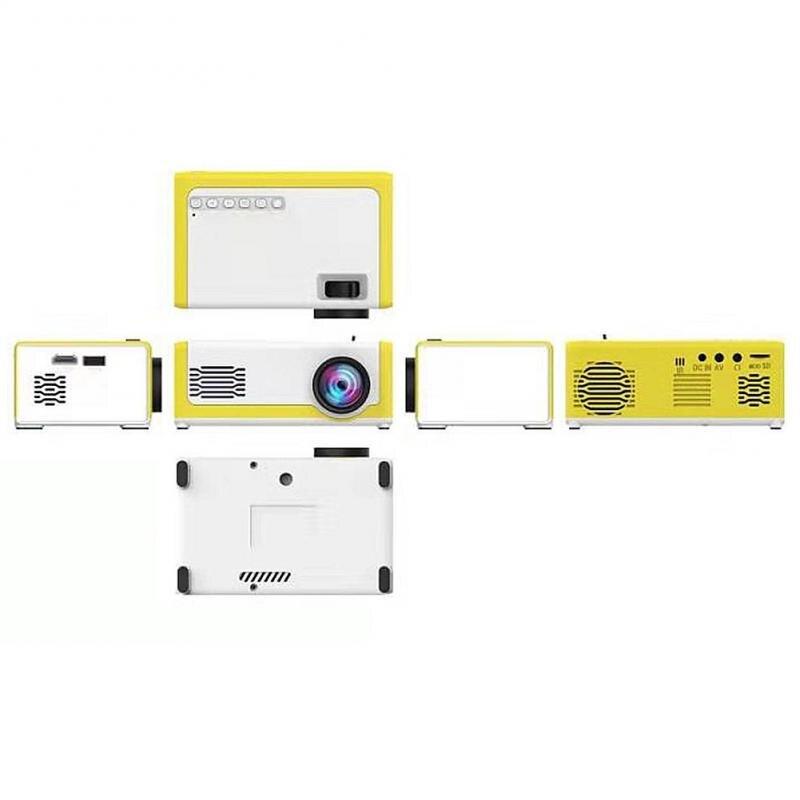 Mini projetor led para crianças 1080p 3d m1 pk yg300 sem fio portátil de cinema em casa hdmi cartão sd usb projetor de cinema em casa-4
