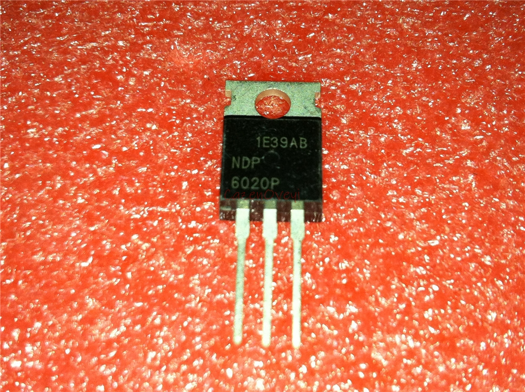 10pcs/lot NDP6020P NDP6020 MOSFET P-CH 20V 24A TO-220 In Stock