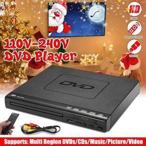 110V-220V Mini DVD Player USB