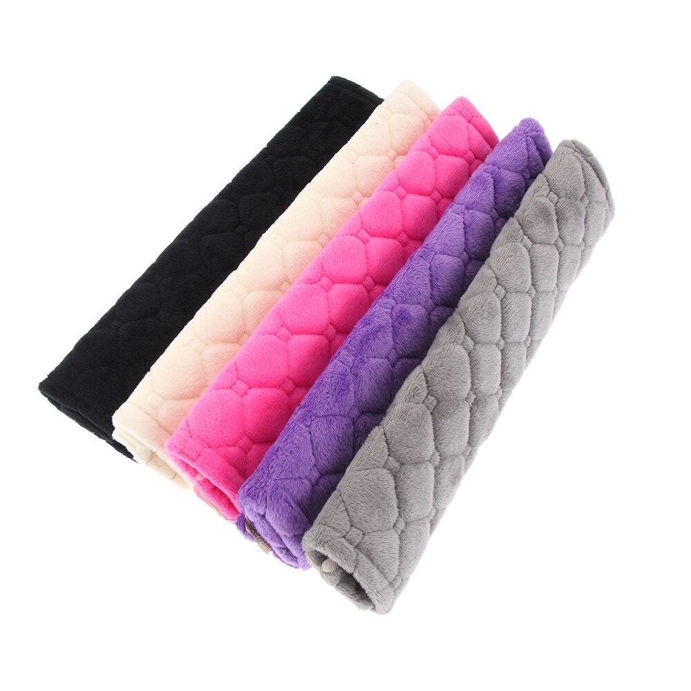 2 шт. удобные Чехлы для ремня безопасности Мягкие плюшевые автомобильные накладки на плечо для взрослых детей аксессуары для салона автомобиля|Ремни безопасности и накладки|   | АлиЭкспресс