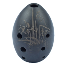 Muzyka Xun ceramika instrumenty w stylu etnicznym osiem otworów mała ceramika chińskie starożytne instrumenty tanie tanio Brass Instrument Parts CN (pochodzenie)