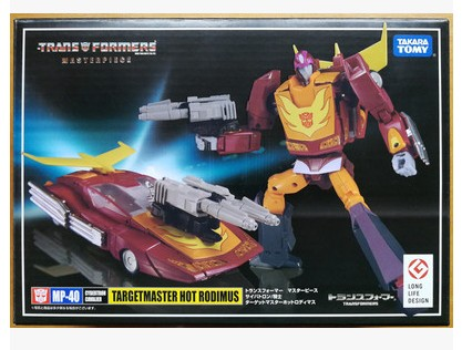 TAKARA TOMY Transformers Robots MP-40 <font><b>MP40</b></font> Hot Rod Deformation Action Figure Toys Collections image
