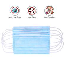 10 pcs Disposable 3-Layer Face Mask Dust Proof Antivira l Surgical Masks Safe Breathable Mouth Mask Disposable Surgical Masks