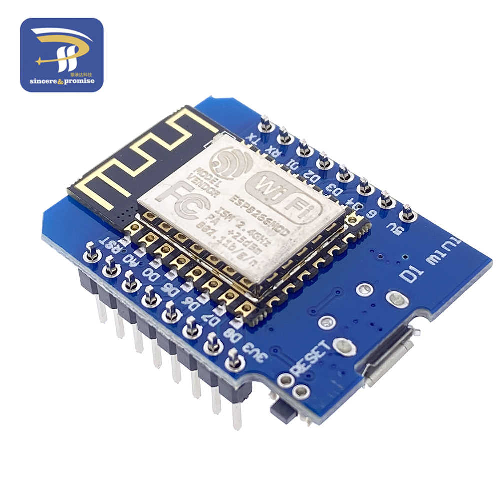 ESP8266 ESP-12F ESP12 CH340G WeMos D1 MINI โมดูล NodeMcu D1 Mini WIFI การพัฒนา Micro USB 3.3V จากการลงทุน digital PIN