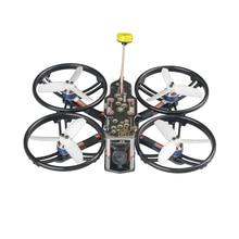 LDARC HD140 FPV HD140 4S Racing Drone F411 controlador de vuelo OSD E20A V200m VTX Nano2 cámara sin accesorios Veiw TPE diseño de amortiguación