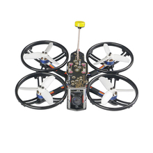 Ldarc HD140 FPV HD140 4S Racing Drone F411 Vlucht Controller Osd E20A V200m Vtx Nano2 Camera Geen Rekwisieten Veiw Tpe demping Ontwerp