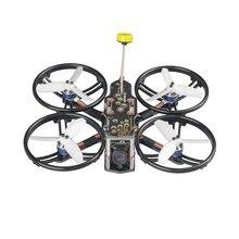 Ldarc HD140 FPV hd140 4S racing drone f411 controlador de vôo osd e20a v200m vtx nano2 câmera sem adereços veiw tpe amortecimento design