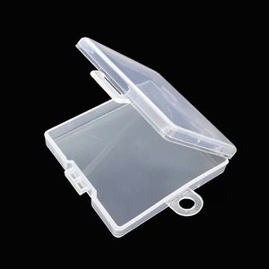 Image 1 - SD TF Transparent Memory Card Holder Component PP Packaging Box Plastic Environmental Protection PP Hook Box Memory Card Cases