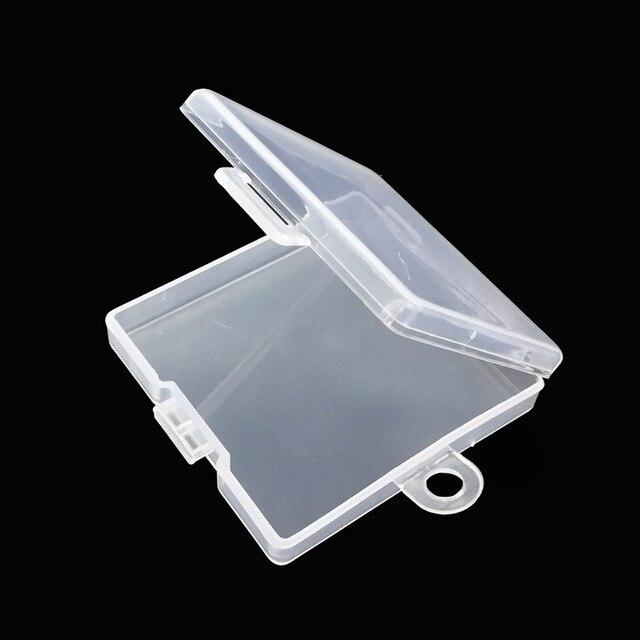 Supporto Della Scheda di Memoria di DEVIAZIONE STANDARD TF Trasparente Componente PP Scatola di Imballaggio di Plastica di Protezione Ambientale PP Box Gancio Confezioni e Custodie per Memory Card