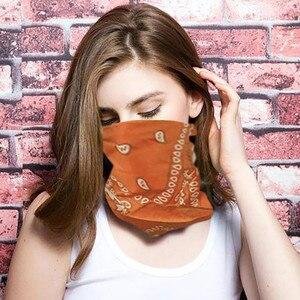 Шарф маска Femme 2020Top новая смешанная хлопковая повязка на голову в стиле хип-хоп для мужчин и женщин шарфы браслет шарф bufanda маска для лица ...