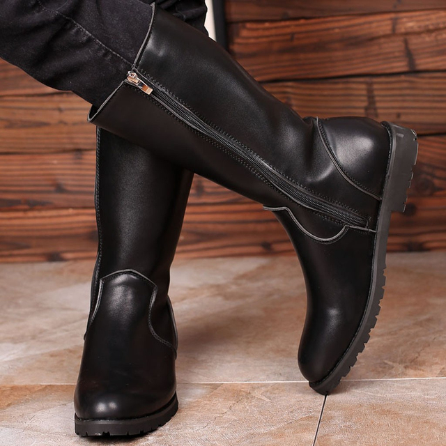 Classy Genuine Leather Boots 3