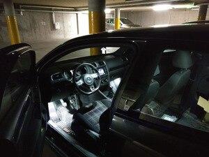 Image 2 - Pure White Fehler kostenloser Auto Led lampen für Volkswagen für VW Golf 2 3 4 5 6 7 MK2 MK3 MK4 MK5 MK6 M7 innen karte dome licht kit