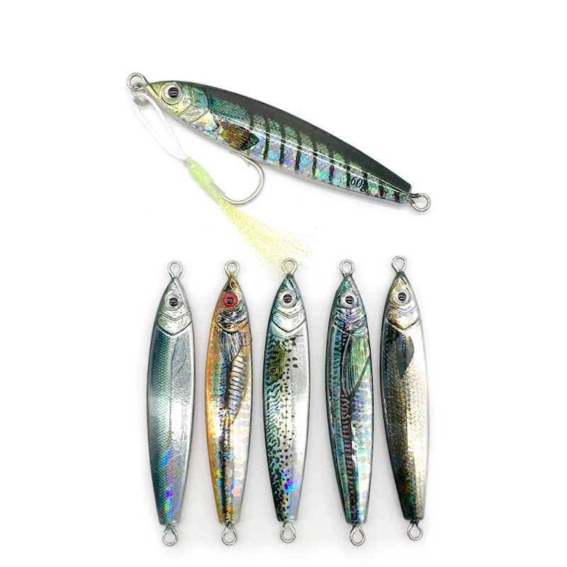 Artificial-Bait-Tackle Jigging Lead Fishing-Lure Cast Jig Shore Fish-Sea-Bass DRAGER title=