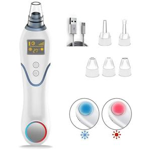 3 In 1 Blackhead Remover Face Deep Nose Cleaner T Zone Pore Acne Pimple Removal Vacuum Suction Facial Diamond Beauty Clean Skin