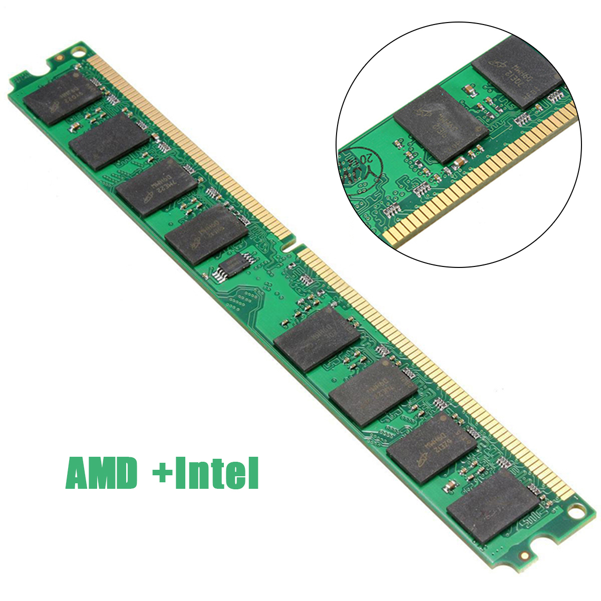 PC Memory <font><b>RAM</b></font> Module Computer Desktop 2GB <font><b>DDR3</b></font> 1333MHz <font><b>PC3</b></font>-<font><b>10600</b></font> 240pin Fit For AMD Intel System image