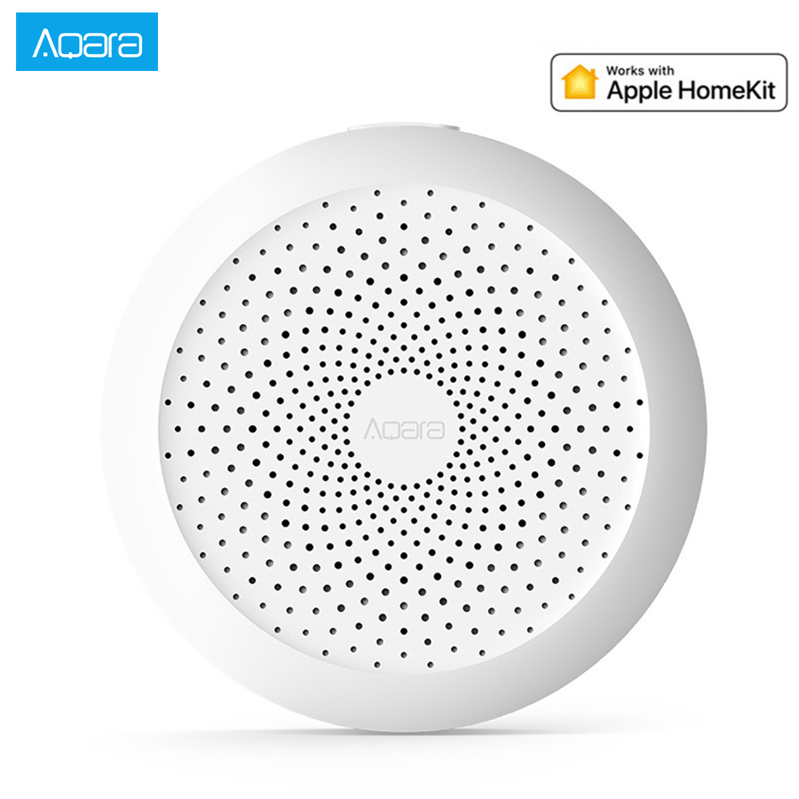 Aqara Hub Mi Gateway with RGB Led 야간 조명 xiaomi mijia MI home App 스마트 홈 센터 용 Apple homekit와 스마트 작업 image
