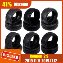Natural Rubber Tire Tyre For Rc Hobby 1/10 On Road Racing