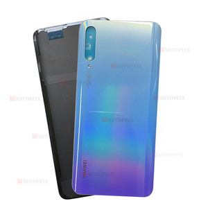 Image 3 - Original Back Cover Case Back Battery Cover Housing For Huawei Y9s Back Cover P smart Pro 2019 Battery Back Rear Glass Cover