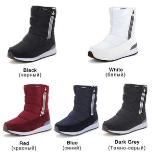 Image 5 - GOGC Warm 방수 Boots 대 한 Women Warm 눈 Boots 2018 Fashion Winter Boots Women 와 털 봉 제 큰 Size 겨울 신발 Women