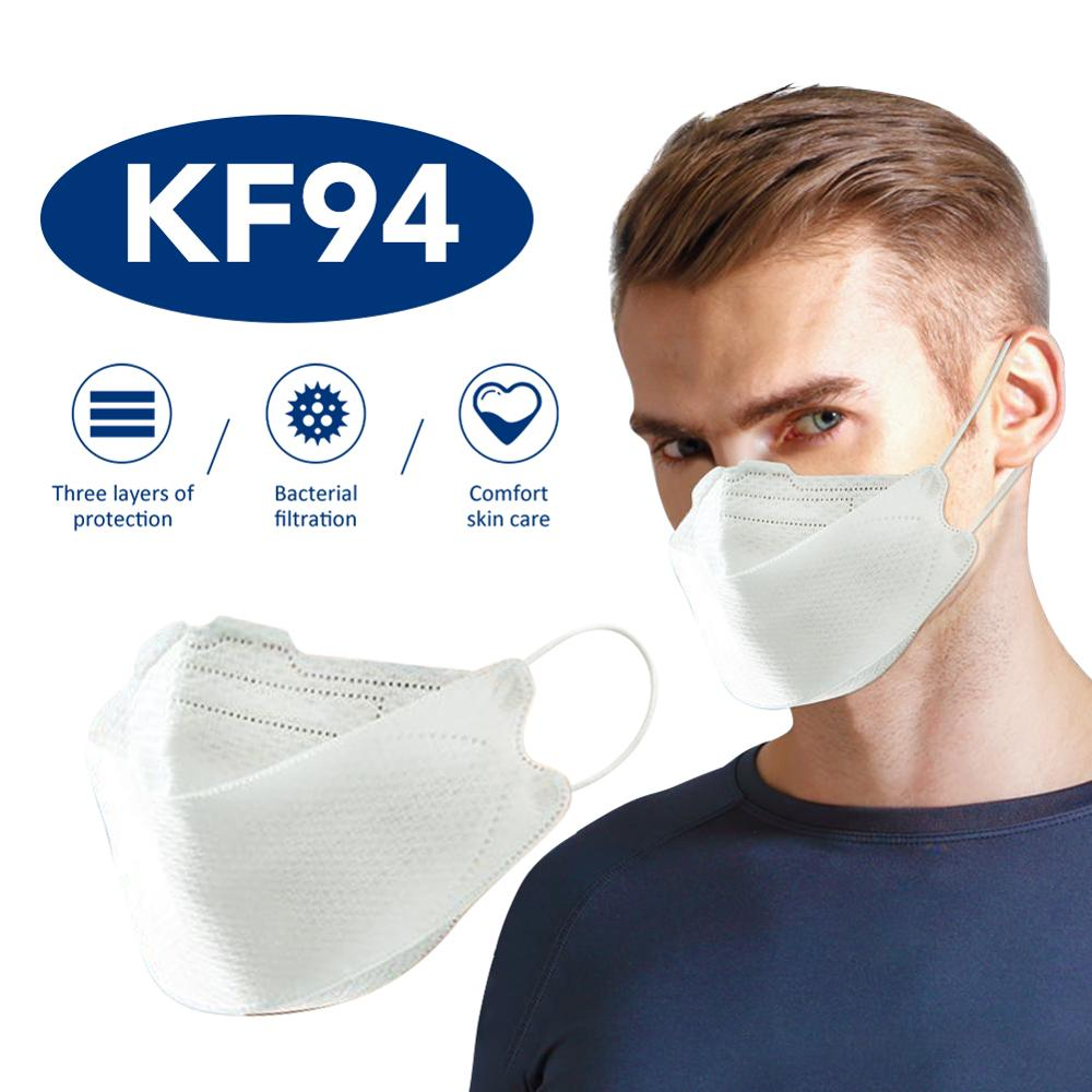 1PC KF94 Mask PM2.5 Dustproof Anti Haze Bacteria Protective Face Mouth Mask Ati-bacteria DustProof Breathable