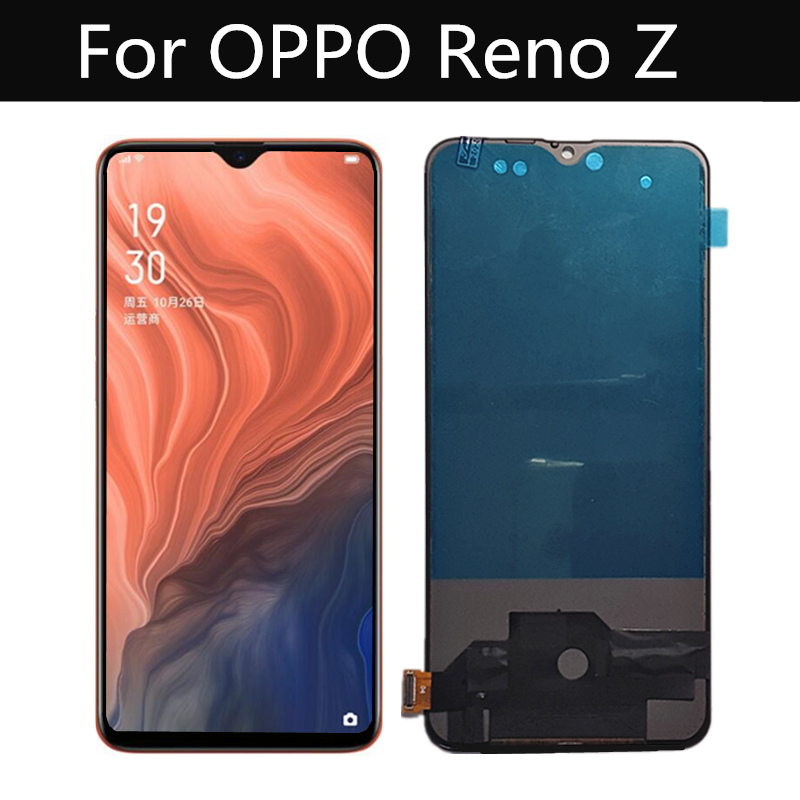 TFT LCD For OPPO Reno Z LCD Display Touch Screen Digitizer Assembly Replacement For Phone 6.4