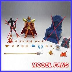 MODEL FANS IN-STOCK gt xc star Saint Seiya cloth myth EX 2.0 Poseidon PVC Action Figure Metal Armor Model Toys