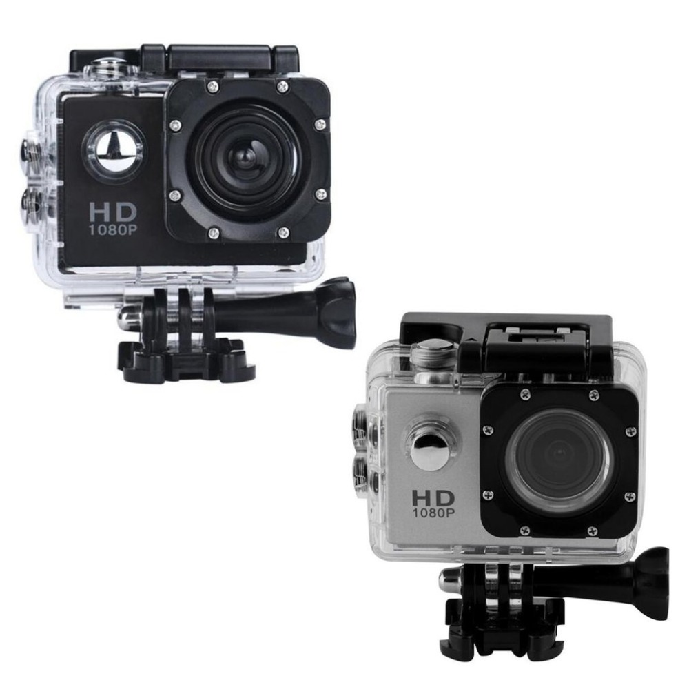 G22 1080P HD Shooting Waterproof Digital Video Camera COMS Sensor Wide Angle Lens Camera For Swimming Diving for Drop shipping image