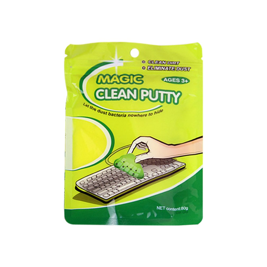 Ecosin Voberry High-Tech Magic Sticky Jelly Compound Super Clean Slimy Gel Computer PC Laptop Keyboard Dust Wiper Cleaner JAN24