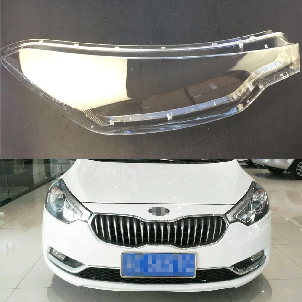 Car Headlamp Lens For Kia K3 2012 2013 2014 2015  Car  Replacement   Auto Shell Cover