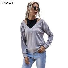 Pgsd Новая модная повседневная осенне зимняя женская одежда
