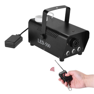Image 3 - RGB туман машина Дым беспроводной пульт дистанционного управления многоцветные вечерние свет этап портативный