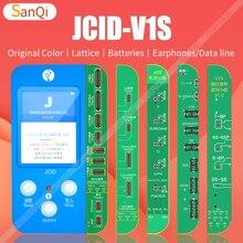 JCID JC V1S мобильный телефон со штрих-кодом оригинальный цвет батареи изменения кода решетки расположение провода для ремонта iPhone 7 X 12PRO MAX