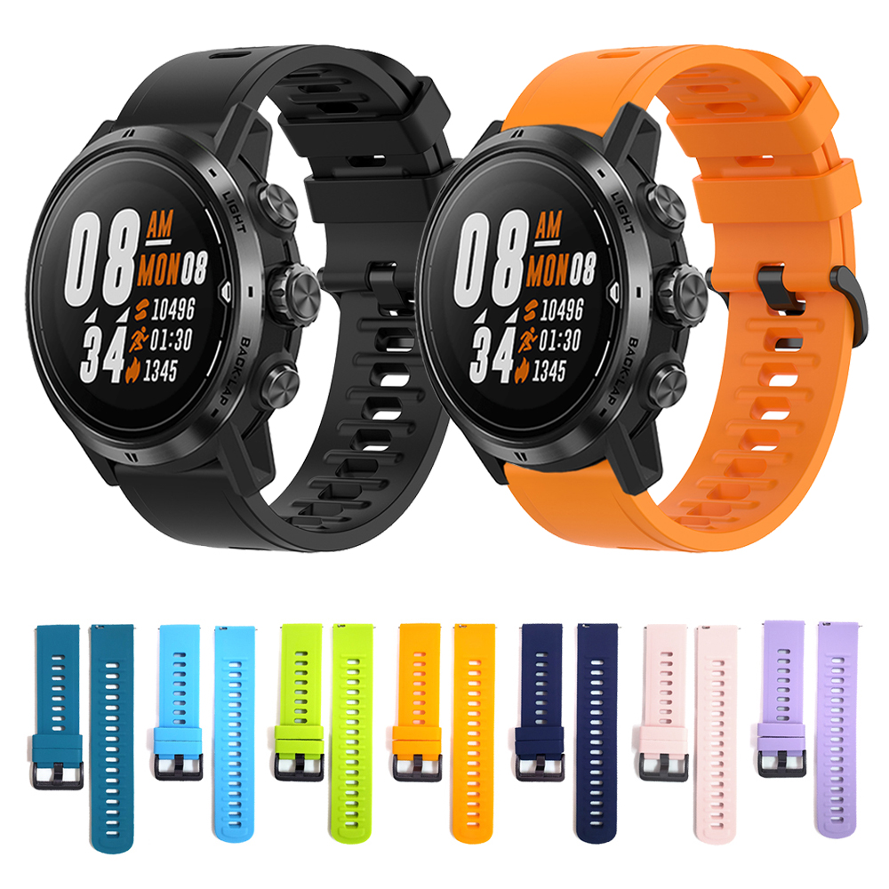 Watchband Wrist Band For COROS APEX Pro Sport Silicone Strap For APEX 46mm 42mm Watch Replaceable Accessories Bracelet