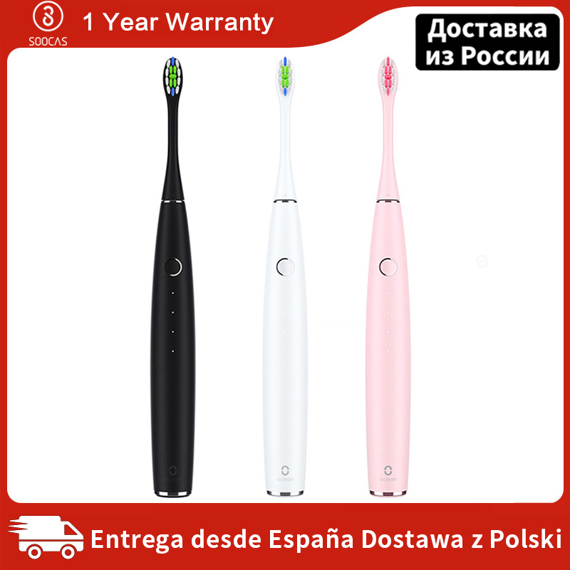 Xiaomi Mijia Oclean One Sonic Electric Toothbrush Adult Waterproof Ultrasonic automatic Fast Charging Tooth Brush Fast Charging-in Electric Toothbrushes from Home Appliances