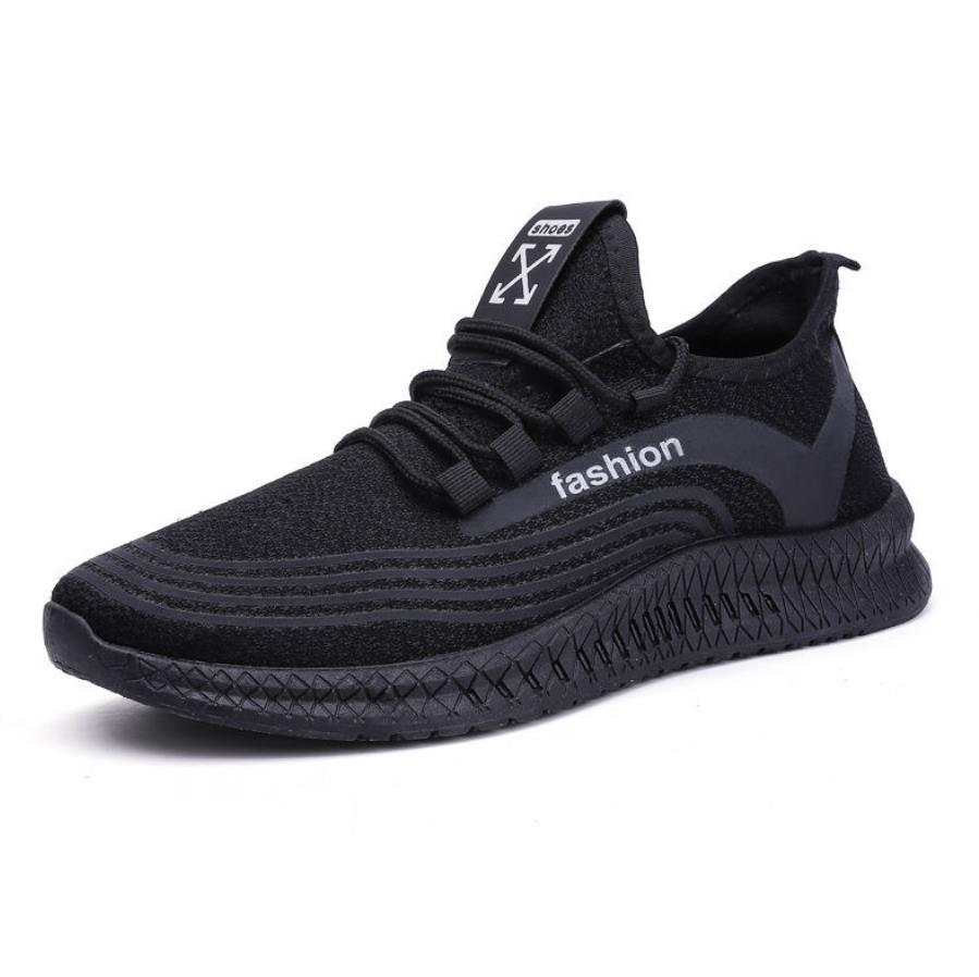 Cheap Fashion Men's Casual Shoes Lace Up Basic Mens Flat Sneakers Summer Breathable Mesh Male Casual Flat Shoes