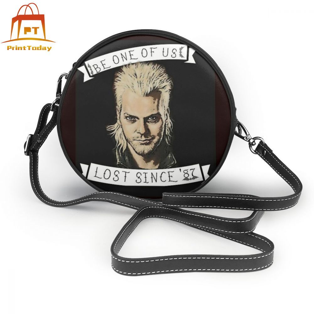 Vampire Shoulder Bag The Lost Boys Davids Invitation Leather Bag Crossbody Mini Women Bags Student Trending Wedding Round Purse