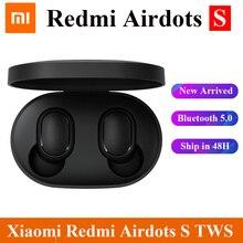 Oryginalny Xiaomi Redmi Airdots 2 Air dots S TWS słuchawki TWS bezprzewodowy Bluetooth 5.0 Redmi słuchawki douszne dla Xiaomi Mi 11