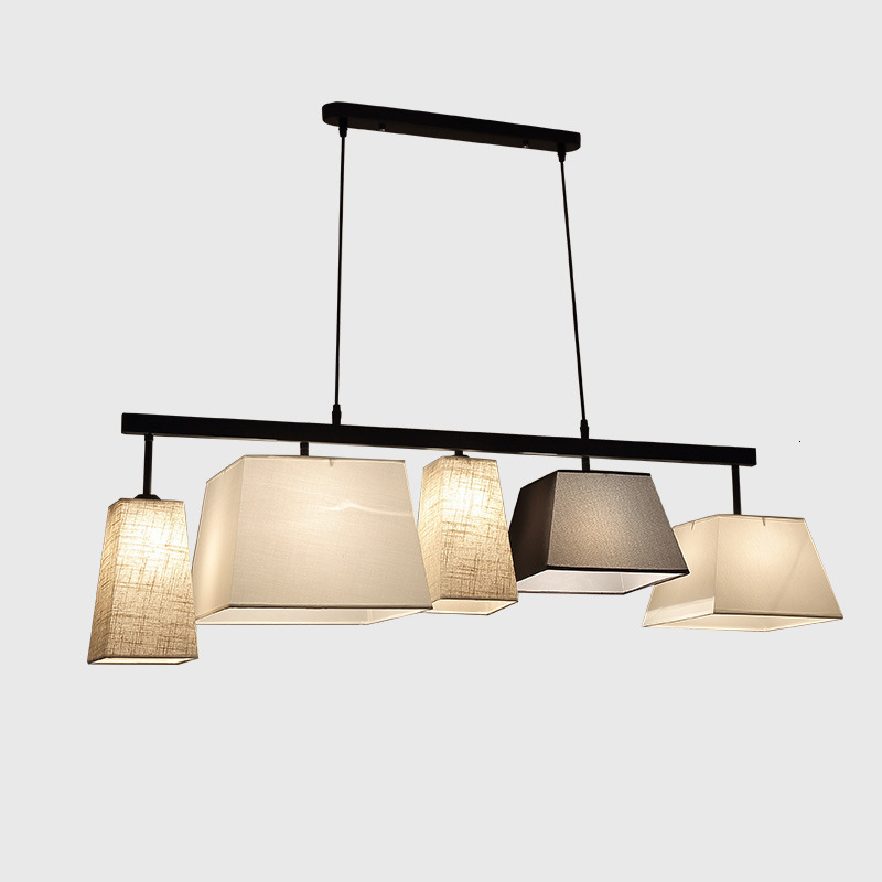 Modern Pendant Lights For Dining Room Home Living Black Hanging Lamp Fixture Restaurant Cafe Decor Suspension Lighting Luminaire