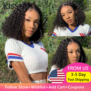 Afro Kinky Curly Wig Human Hair Curly Bob Lace Front Wig Mongolian Kinky Curly Hair Wig Bob Lace Front Wigs Curly Lace Front Wig lekker brazilian human hair wig kinky curly hair bulk afro kinky curly human hair kinky wig short bob curly wigs human hair