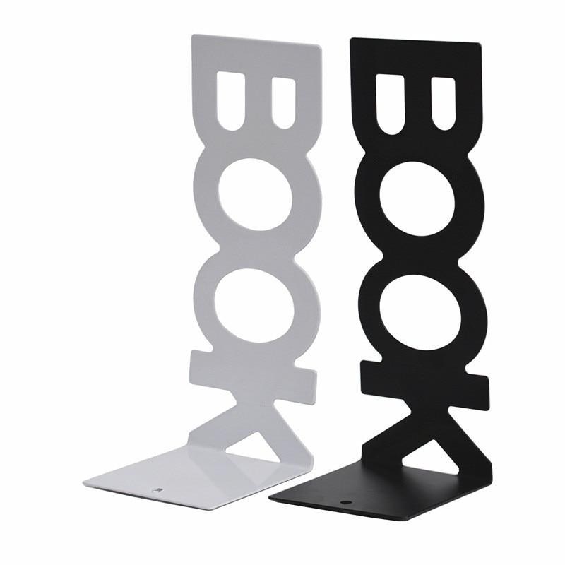 Bookends Long Book Alphabet Book Baffle Book Clip Metal Book Stand Book File Book Stand Book Clip Book Bookmark Customization