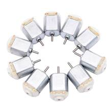 10Pcs 130 Micro DC Motor 3V-6V 8000RPM Miniature Electric motor four-wheel motor small DIY Toys Hobbies Smart Car