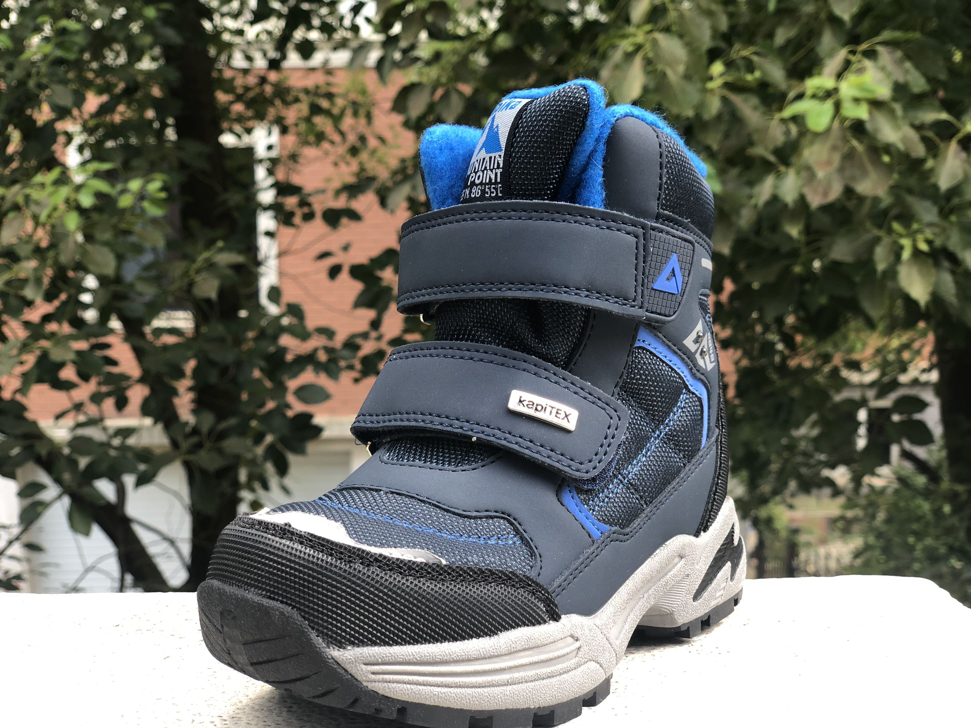 Waterproof Baby Boys Snow Boots Winter -30 Degrees Non-slip Children Shoes Super Warm Fashion Boots With Wool Size 28-32
