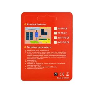 Image 5 - CHIPAL MicroSD SDHC SDXC 컴팩트 플래시 타입 I 메모리 카드 (소매 패키지 포함) 용 CF 어댑터에 고품질의 새로운 마이크로 SD TF