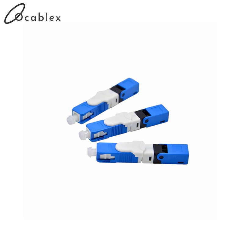 Image 3 - Free Shipping 100PCS/Lot FTTH ESC250D SC APC and SC UPC Single Mode Fiber Optic Quick Connector FTTH SM Optic Fast Connector-in Fiber Optic Equipments from Cellphones & Telecommunications